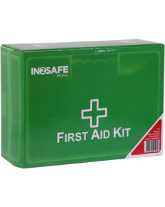 IN2SAFE 1-12 Person First Aid Kit - Plastic Box