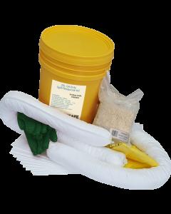 IN2SAFE Oil Only Spill Kit - 25L Workshop (Bucket)